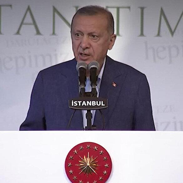 Cumhurbaşkanı Erdoğan engelli ve yaşlılara verilen sosyal hizmetleri tek tek anlattı
