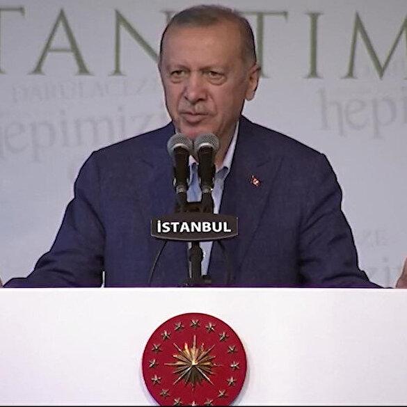 Cumhurbaşkanı Erdoğan'dan yurt provokasyonu yapanlara sert tepki: Hayatınız yalan