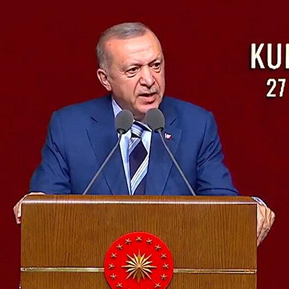 Cumhurbaşkanı Erdoğan: Vesayetçilerin önüne cübbesini seren sözde yargı mensupları gördük