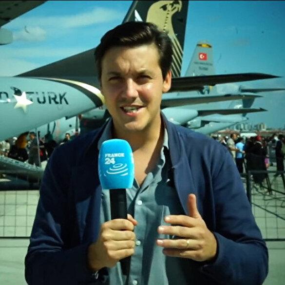 France 24 TEKNOFEST'i haberleştirdi: AKINCI'nın bu kadar hızlı geliştirilmesi şaşırtıcı