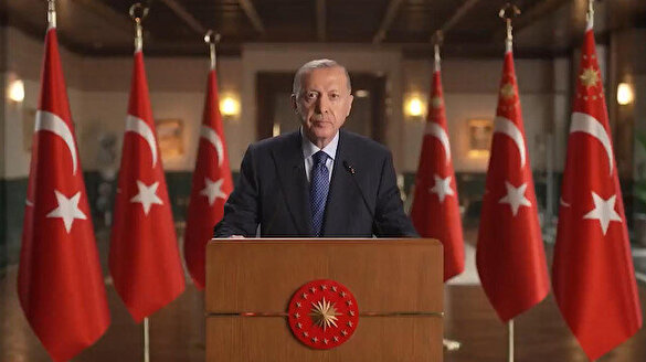 Cumhurbaşkanı Erdoğan'dan Küresel Kovid-19 Zirvesi'ne video mesaj