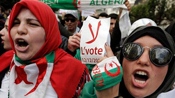 Cezayir'de boykot edilen seçimi Tebbun kazandı