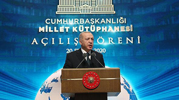📚 Cumhurbaşkanı Erdoğan: Millet Kütüphanesi'nin benzerini İstanbul'da inşa edeceğiz