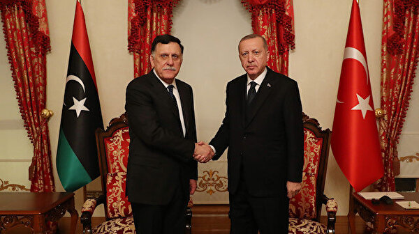 Turkish president meets Libyan PM in Istanbul