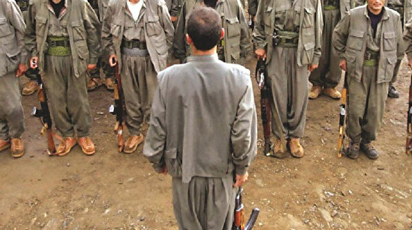 FETÖ'cüler kampta silah eğitimi verdi