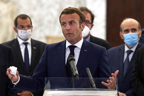 Fransız Le Figaro yazdı: Macron yaptırım tehditleriyle Lübnan siyasetini dizayn ediyor