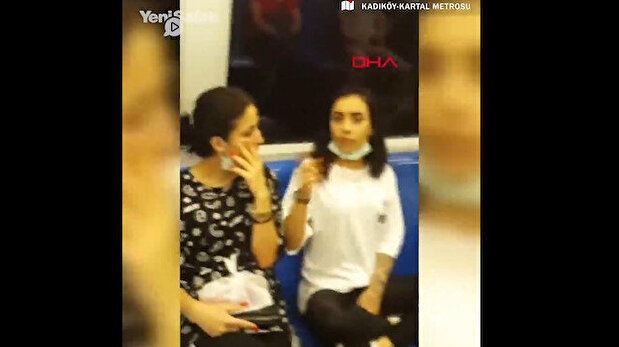 Irresponsible young women attack Istanbul met...