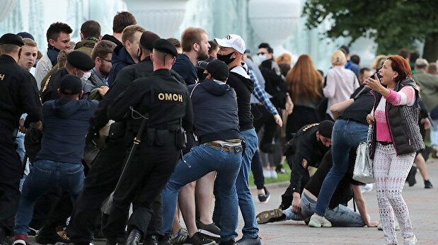 At least 250 arrested in Belarus protests