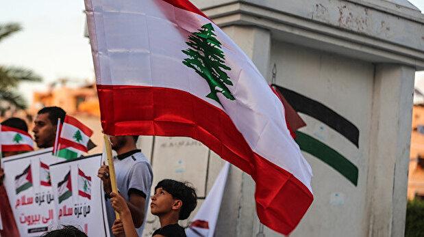 Demonstration in Gaza City in support of Lebanon