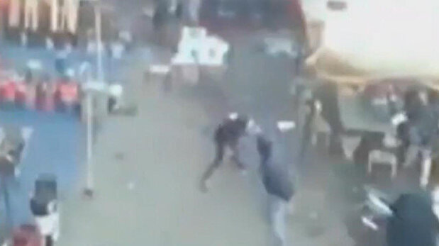 Fresh footage emerges of twin suicide attack ...