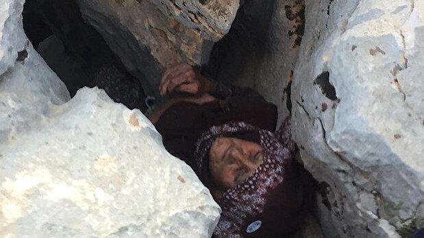 بعد اختفائها 3 أيام.. إنقاذ عجوز تركية مصابة ...