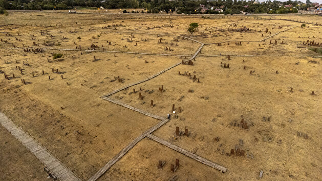 Seljuk cemetery in eastern Turkey attracts tourists