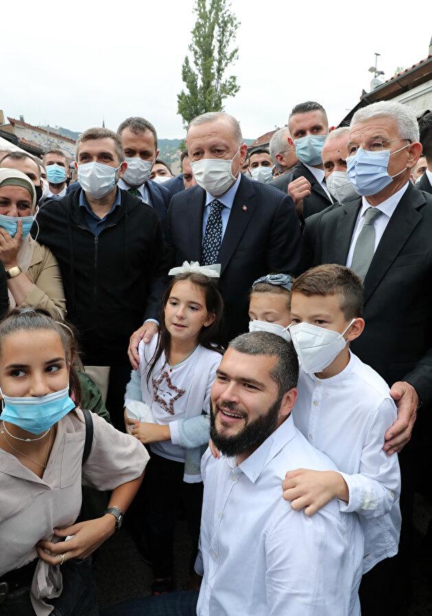 Turkey's Erdogan inaugurates new mosque in Bosnia