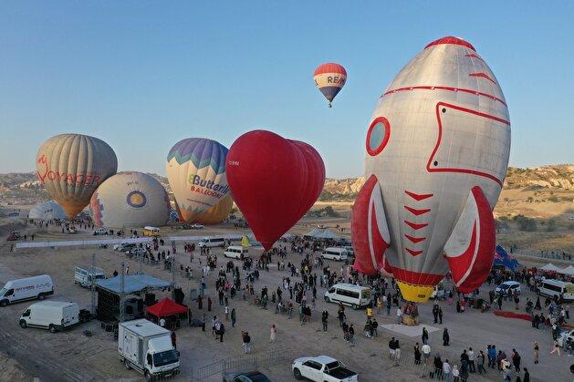 Second International Hot Air Balloon Festival kicks off in Turkey's Cappadocia