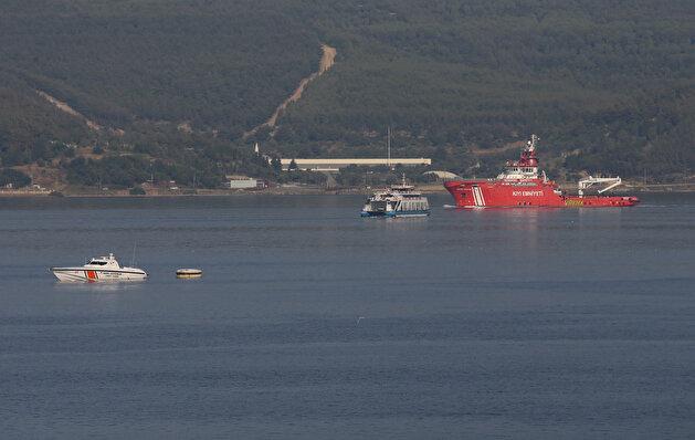 'Nene Hatun' sets sail to help extinguish fires in Turkey's Mugla