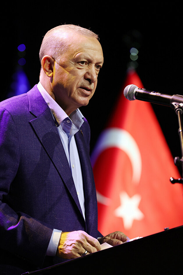 Erdoğan attends 'A Fairer World Is Possible' conference in US
