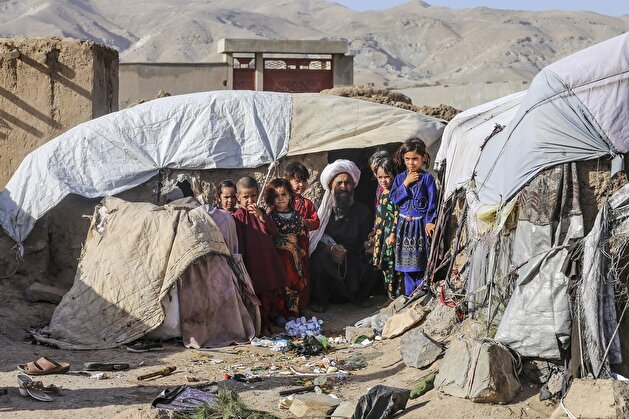 Heart-rending situation of displaced children in Herat Refugee Camp