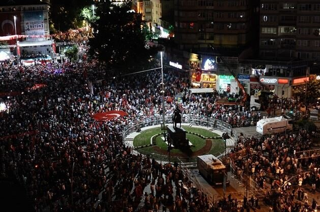 Scenes from the July 15 Democracy and National Unity rallies across Turkey