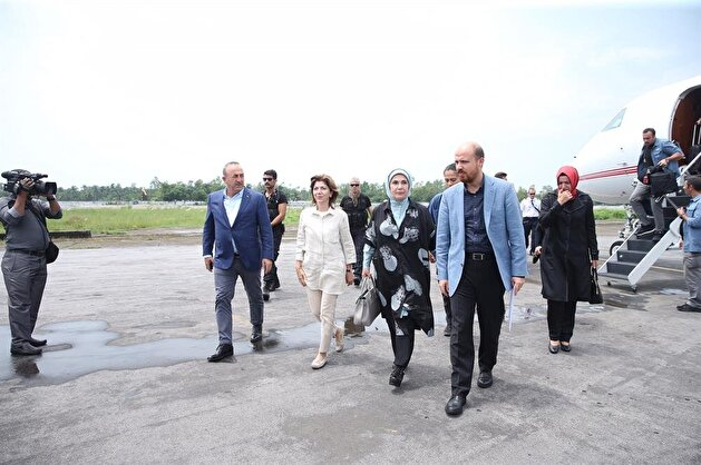 Turkey's first lady arrives in Bangladesh to visit Rohingya