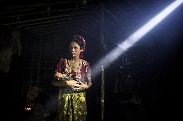 Pregnant Rohingya women forced to give birth in unsanitary conditions