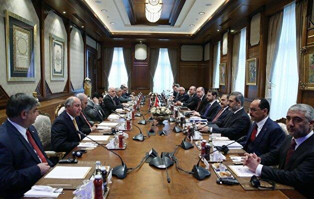 Iraqi Prime Minister Haider al-Abadi in Ankara