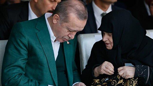 Müşerref Erdem, 70, actualizes dream of meeting President Erdoğan