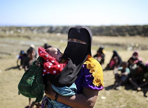 Rohingya fled from oppression in Myanmar