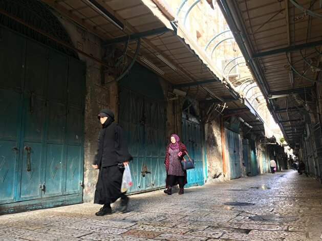 East Jerusalem shops strike over US decision