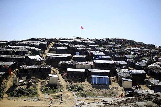 The dire living conditions of the Rohingya Muslims