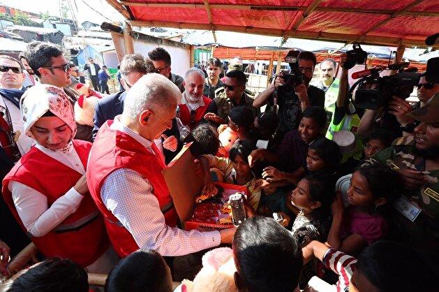 Turkish PM Binali Yıldırım in Bangladesh