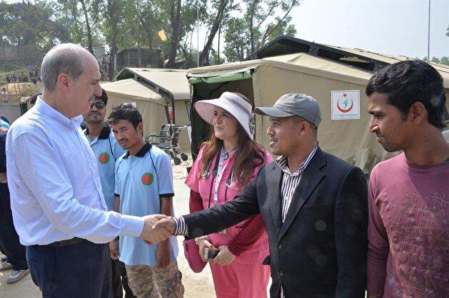 Turkish minister visits Rohingya camps in Bangladesh