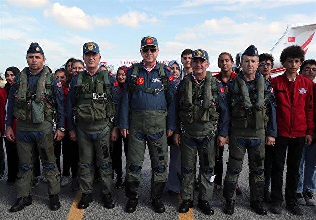 Erdoğan attends Teknofest Istanbul