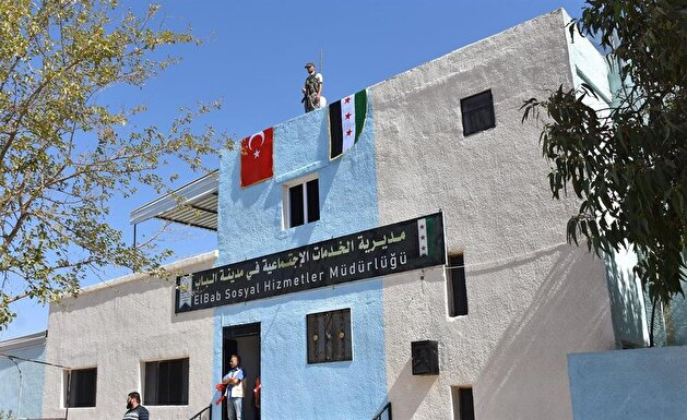 Social services directorate, sports complex opens in Syria's al-Bab with Turkey's support