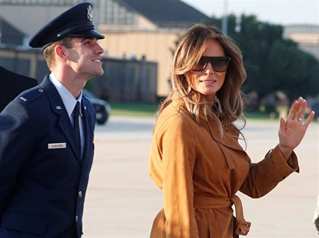 Melania Trump's first solo trip to Africa