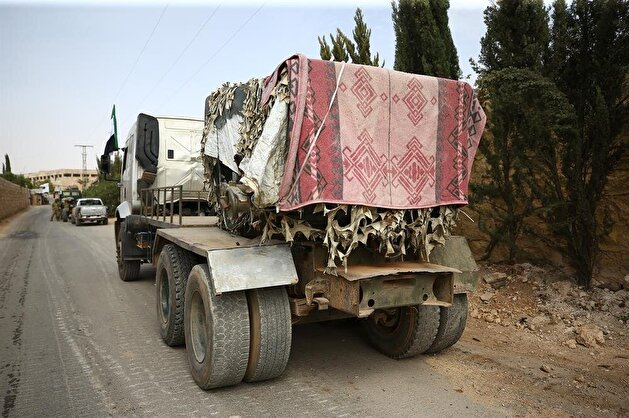 Withdrawal process of heavy weapons in Idlib