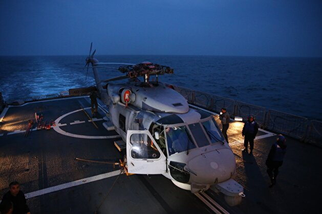 Turkey's largest military exercise Sea Wolf 2019