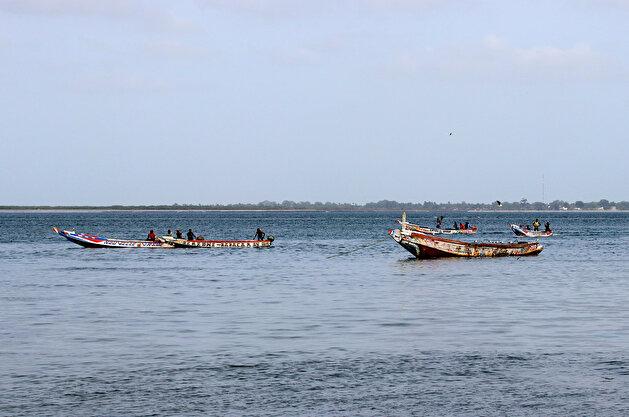 Senegalese fishermen of the Saloum Delta