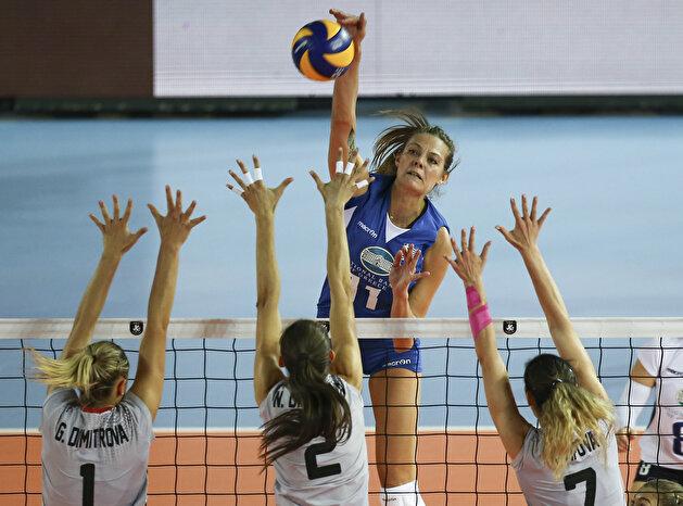 Greece vs Bulgaria : 2019 Women's European Volleyball Championship