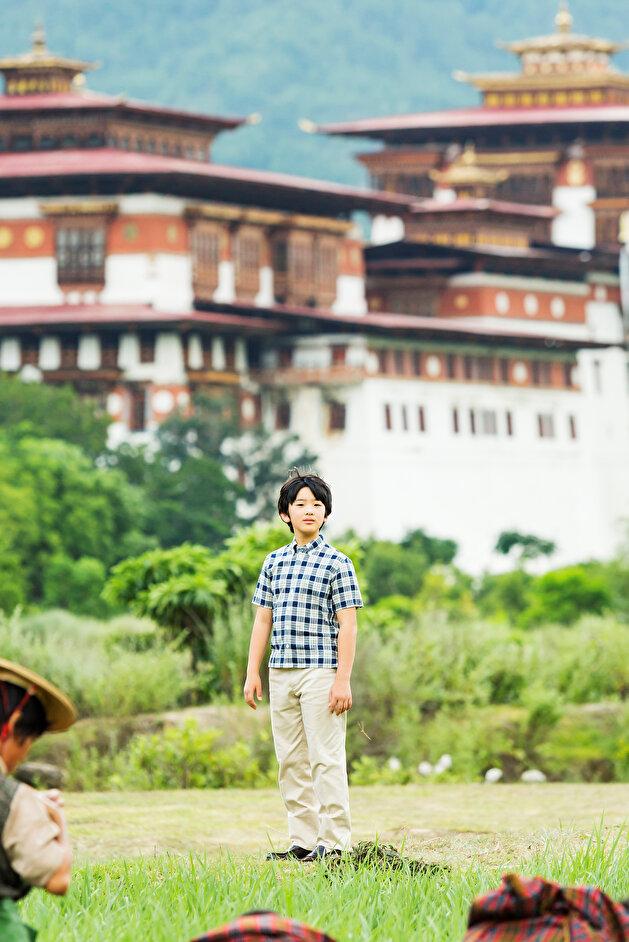 Japan Prince Hisahito, the son of Crown Prince Akishino and Crown Princess Kiko, in Bhutan