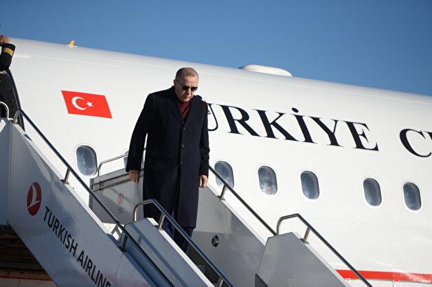 Turkey's President Erdoğan in quake-hit eastern Turkish province