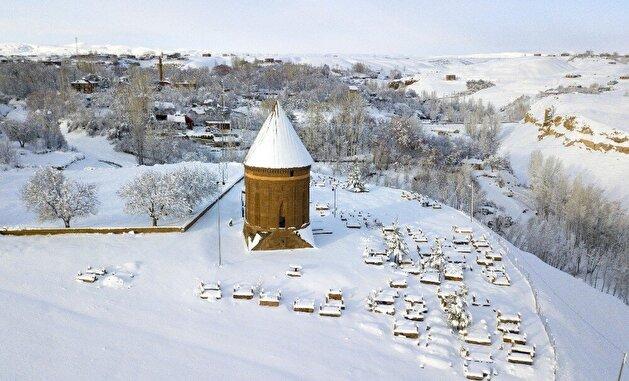 Snow turns Turkey's historical Ahlat into winter wonderland
