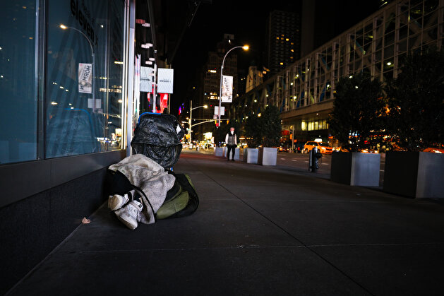New York City's homeless anxiety on COVID-19 pandemic
