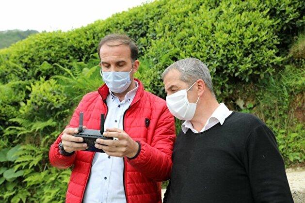 مختار تركي يرسل كمامات لأهالي قريته عبر طائرة مسيرة!
