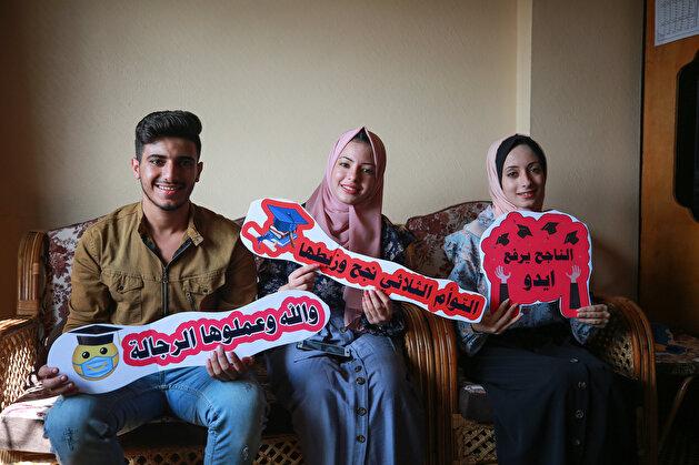 Student success in Gaza despite Israeli blockade