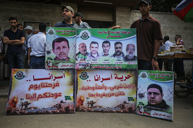 Gazans protest Covid-19 threat in Israeli prisons