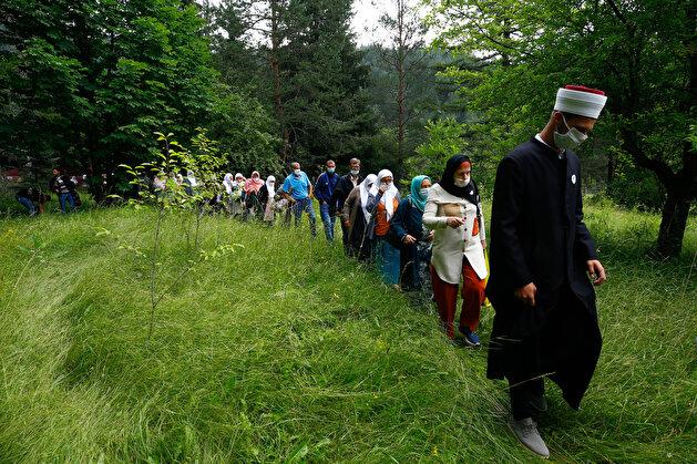 Commemoration for Srebrenica victims