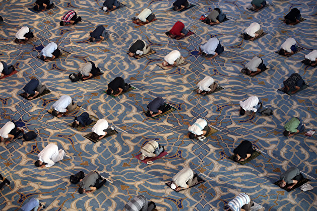 Eid al-Adha prayer in Istanbul