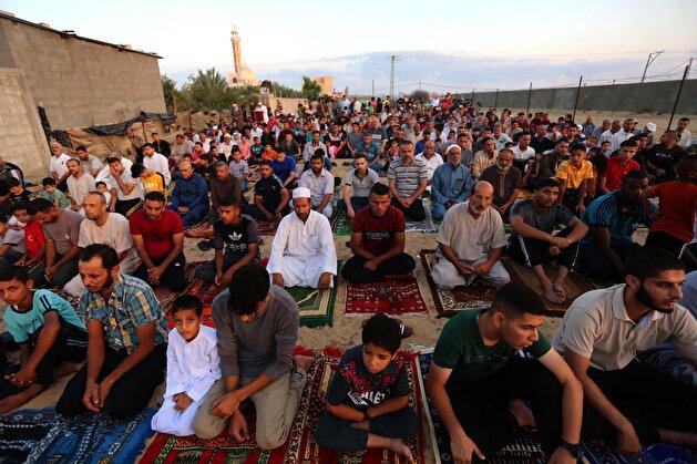 Eid al-Adha prayer in Gaza