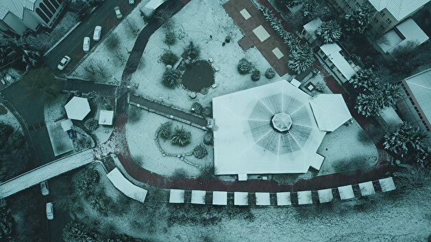 Aerial images dazzle as 'magical snowfall' dusts historical Istanbul