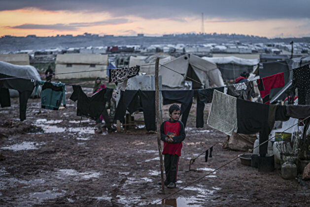 Harrowing ordeal of Syrian children during winter in Idlib